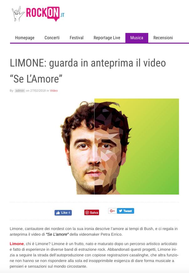 Limone @RockOn